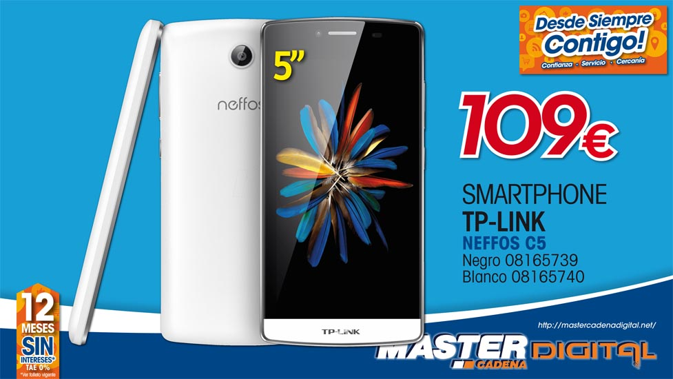 SMARTPHONE TP LINK NEFFOS C5