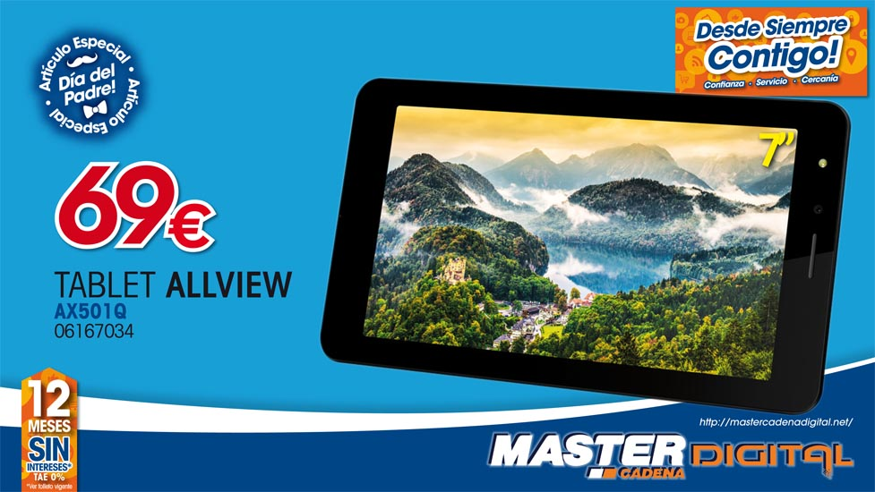 TABLET ALLVIEW AX501Q